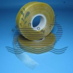 Glass tape with sticky layer
